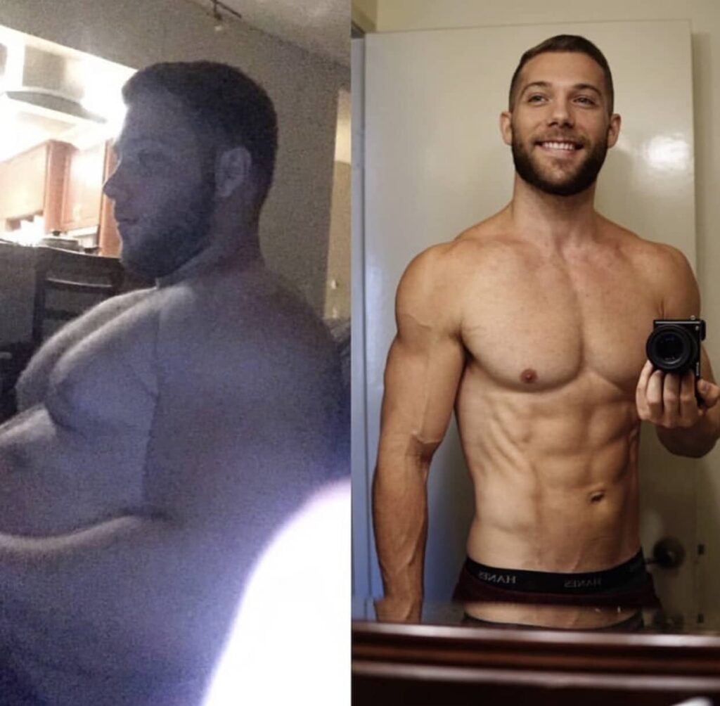 reto 30 dias hombre-antes-despues